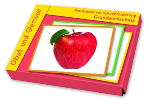 Fotokarten zur Sprachförderung: Grundwortschatz: Obst und Gemüse