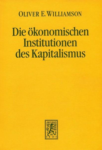 Die ökonomischen Institutionen des Kapitalismus
