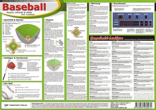 Baseball: Regeln, Abläufe & Maße incl. Lexikon