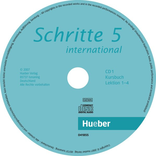 Schritte international 5. 2 Audio-CDs zum Kursbuch