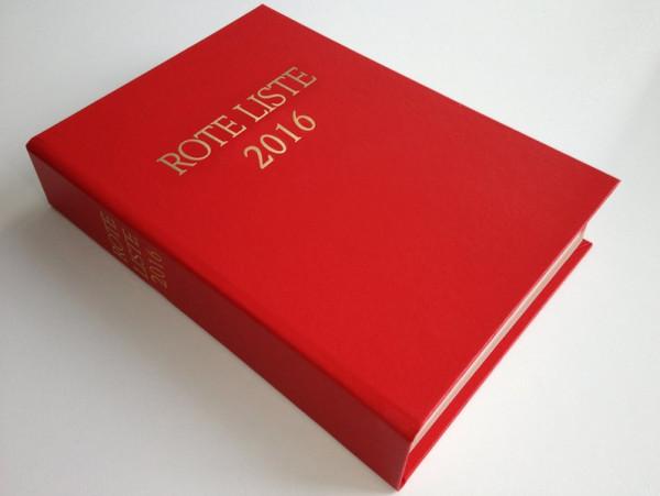 ROTE LISTE 2016 Buchausgabe Einzelausgabe: Arzneimittelverzeichnis für Deutschland (einschließlich E