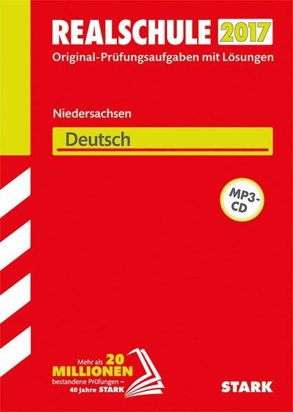 Abschlussprüfung Realschule Niedersachsen - Deutsch