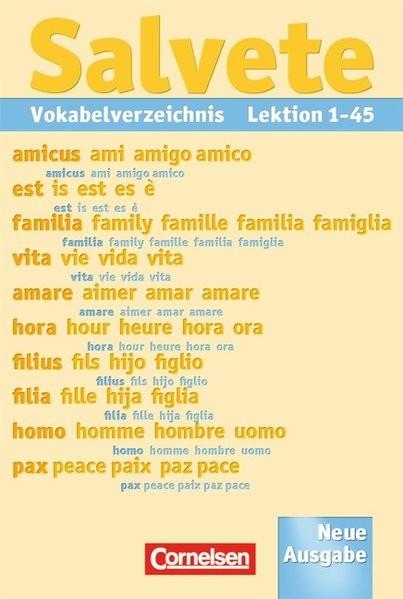 Salvete 1 und 2. Neue Ausgabe. Vokabelverzeichnis