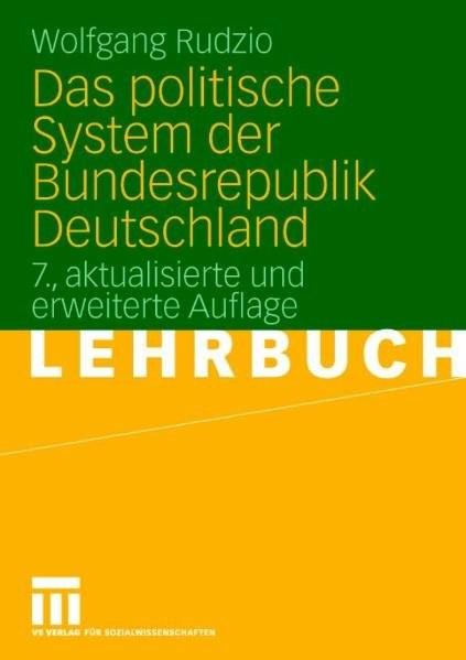 Das politische System der Bundesrepublik Deutschland. Lehrbuch