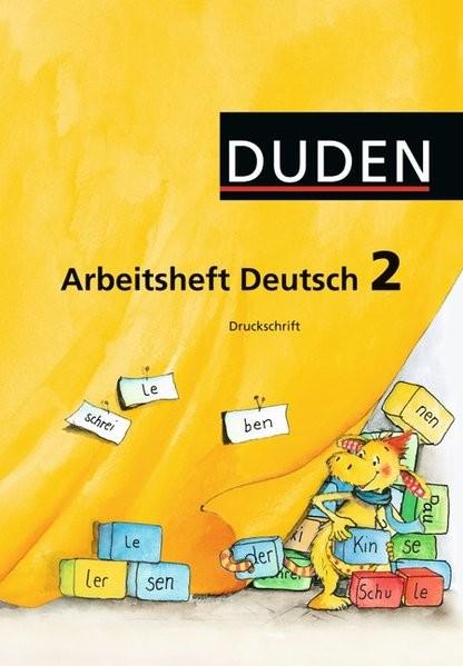 Duden Sprachbuch - Westliche Bundesländer (außer Bayern): 2. Schuljahr - Arbeitsheft Druckschrift: M