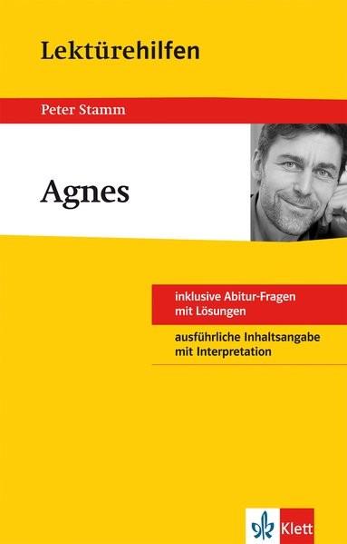 Klett Lektürehilfen Agnes: für Oberstufe und Abitur - Interpretationshilfe für die Schule