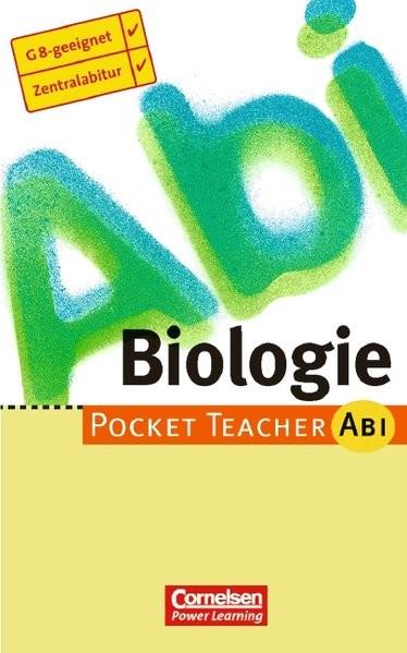 Pocket Teacher Abi. Sekundarstufe II - Bisherige Ausgabe (mit Umschlagklappen) / Biologie